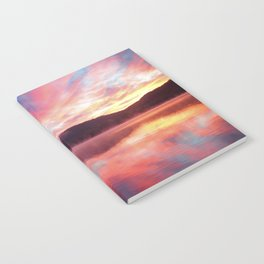 Sunrise: Fire Above and Fire Below Notebook