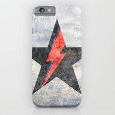 BlackStarMan (waiting in the sky) iPhone 6s Slim Case