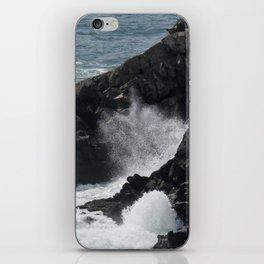 Waves Crashing on the Coast iPhone Skin