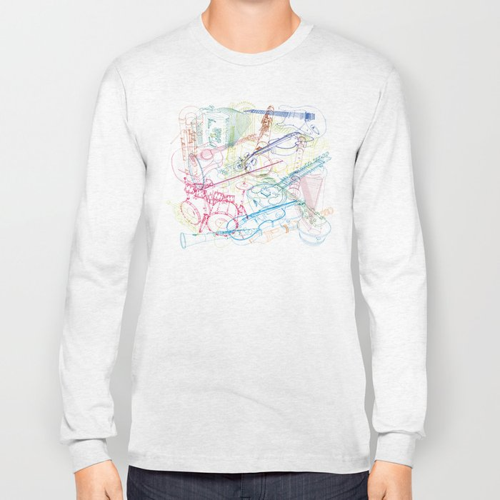 Music #1 Long Sleeve T-shirt