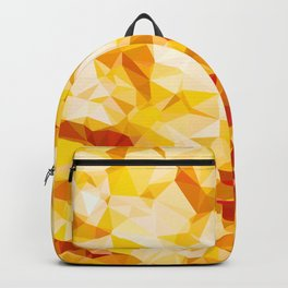 Sunspot Low Poly Geometric Nature Art  Backpack