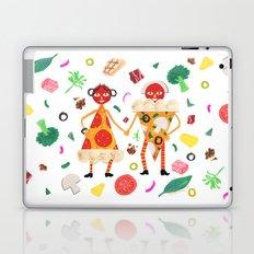 Pizza Folk Laptop & iPad Skin