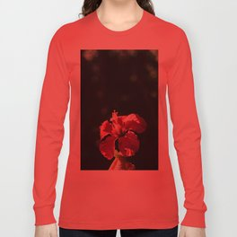 Hibiscus in Mexico Long Sleeve T-shirt
