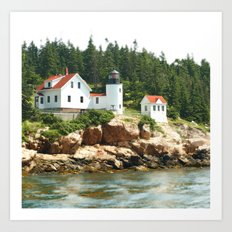 Bass Lighthouse Art Print