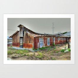 The Barn is still Up Art Print