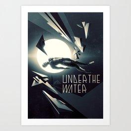 Under the Water Art Print