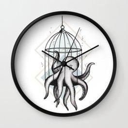 Set Me Free Wall Clock