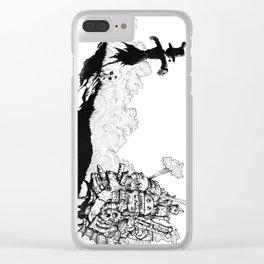 Howl no Ugoku Shiro Clear iPhone Case