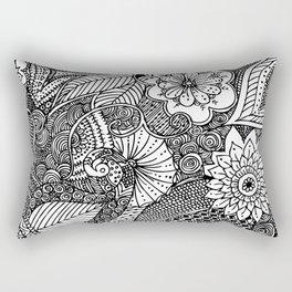 Doodle III Rectangular Pillow