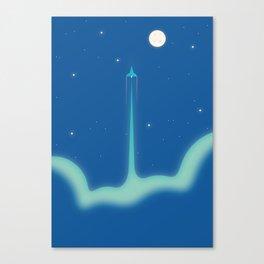 Rocket #1 Canvas Print