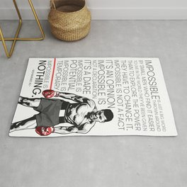 Ali 'The Champ' Boxing Rug