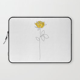 Lemon Rose Laptop Sleeve