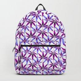 WEED LOVE, LAVENDER PLUM PURPLE Cannabis Smoke Marijuana Backpack