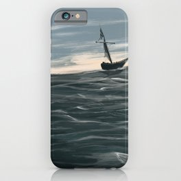 Waters Unknown iPhone Case
