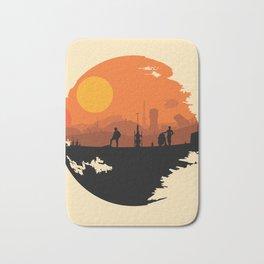 Death Star Alternative Movie Poster Bath Mat