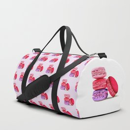 French Macarons Duffle Bag