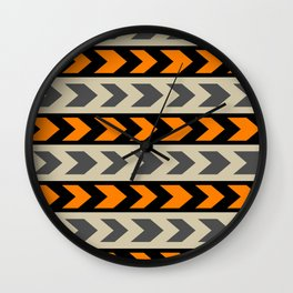 Turn right Wall Clock