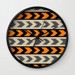 Turn right Wall Clock