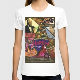 Vintage Harlem Renaissance Angels for the Arts Advertisement Poster T-shirt