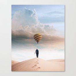 I'll Follow. Canvas Print