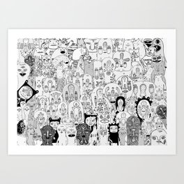 School daze Art Print