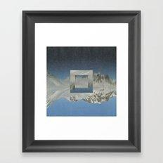 Magdalenefjord Framed Art Print