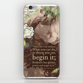Begin it... iPhone Skin