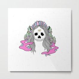 Voodoo Mama Metal Print