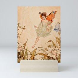 """Fairy Among Flowers"" by Erich Schutz Mini Art Print"