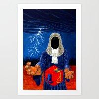 doom Art Prints featuring Doom by Lupo Solitario