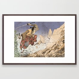 KUMA Framed Art Print