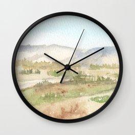 The Golan Heights - WC150615-12b Wall Clock