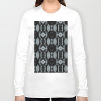 gray pattern Long Sleeve T-shirts featuring Black And Gray Pattern by Need-A-Photo?