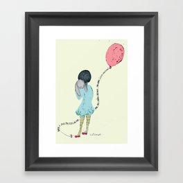 When I Saw You I Fell In Love 2 Framed Art Print