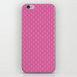 Fearless Female Pink iPhone Skin