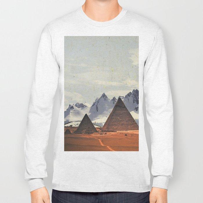 WHEN ANTARCTIC MEETS PYRAMIDS Long Sleeve T-shirt