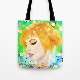 Digital Painting - Hayley Williams Tote Bag