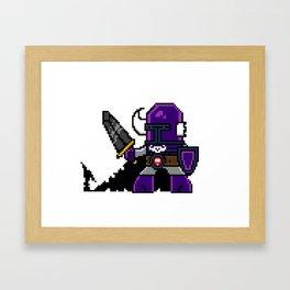 Dungeon Hordes Pixel Tiggz Framed Art Print