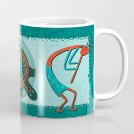 Visitors Anasazi Folk Art Coffee Mug