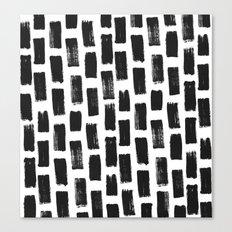 Paint Stroke Pattern Canvas Print