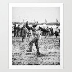 Mud and Techno Art Print