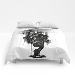 DIRTY WEATHER Comforters