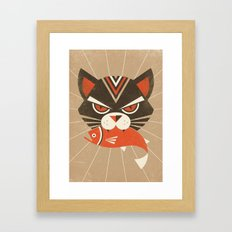 The Demon Cat (Fairy and Folk Tales of the Irish Peasantry) Framed Art Print