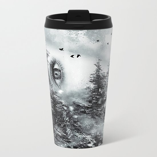 The Watcher Metal Travel Mug