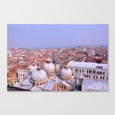 Venice Rooftops Canvas Print