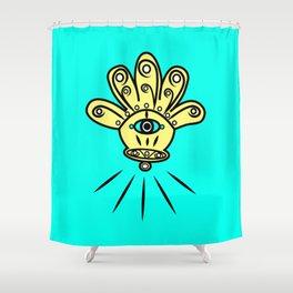 khamsa  Shower Curtain