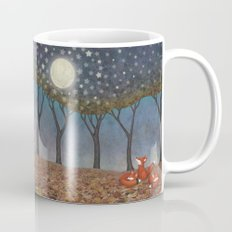 sleepy foxes Mug