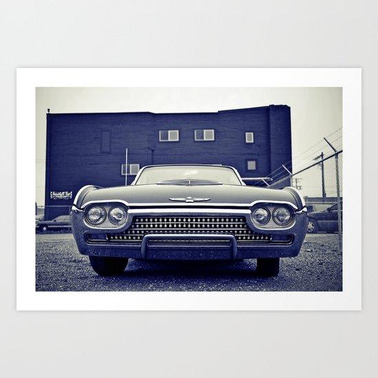 Thunderbird aesthetics Art Print