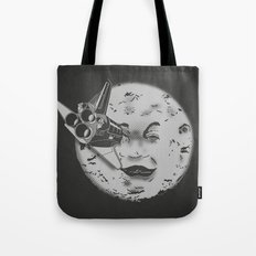 Méliès's moon: Times are changing. Tote Bag