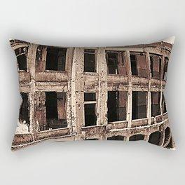 Mile-Long Barracks Rectangular Pillow